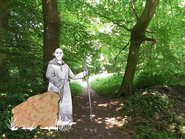 Wanderweg Mönch