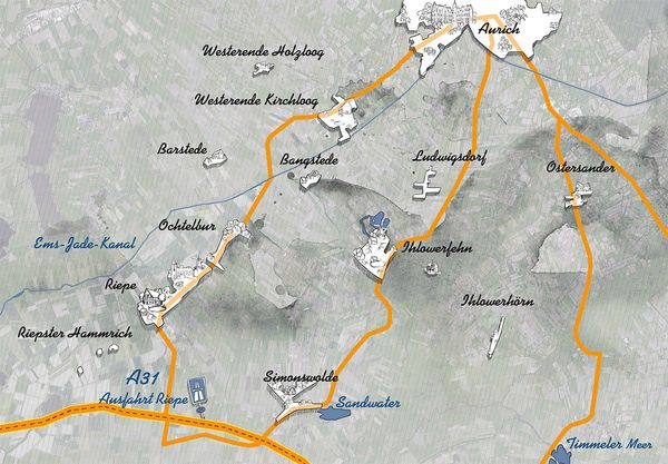 Ihlow Karte