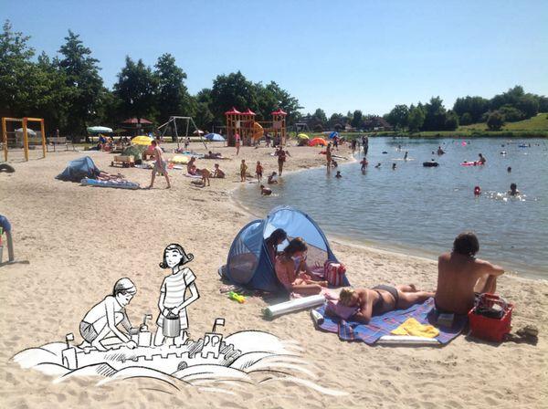 Ihlow Tourismus – Strandbild