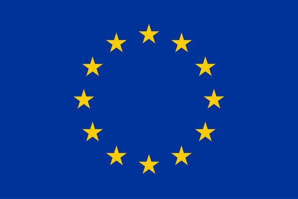 Die Flagge der Europäischen Union