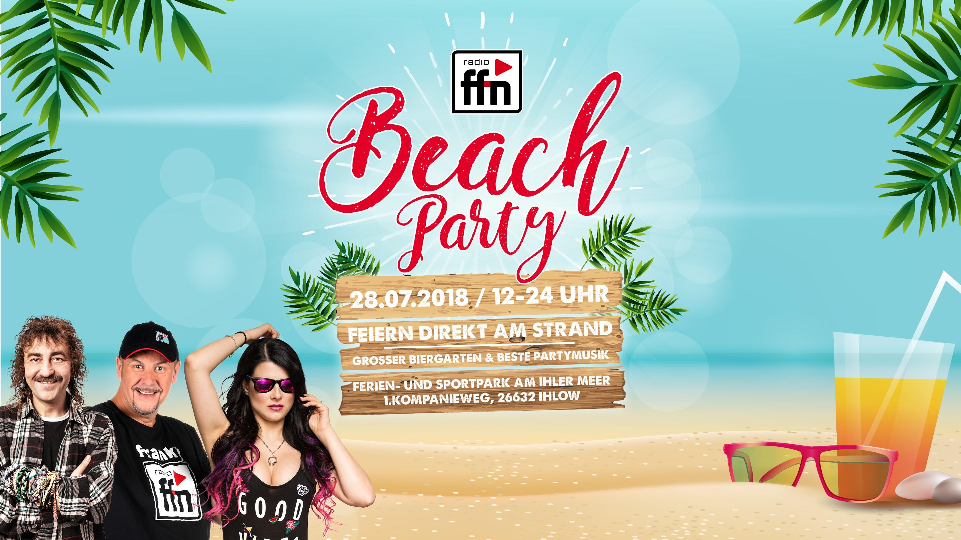 ffn Beachparty am Ihler Meer